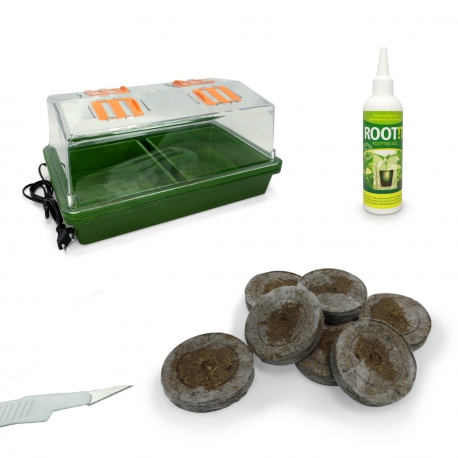 Kit Thermo 20 semis ou boutures - Neptune Hydroponics