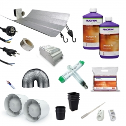 Kit de culture coco Plagron + éclairage 250W