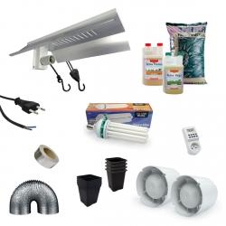 Canna - Pack culture CFL 150W - engrais Terra Véga & Flores