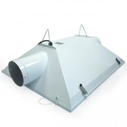 Réflecteur vitré SSII avec sorties 150mm - câblé IEC 3 mètres - FLORASTAR
