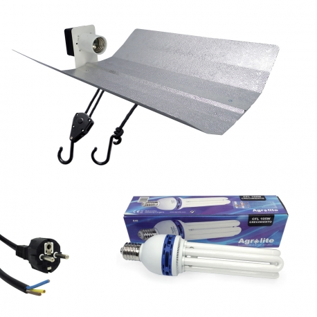 Kit lampe CFL 105W Croissance - AGROLITE
