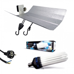 Kit lampe CFL 125W Croissance - FLORASTAR