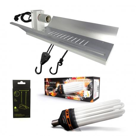 Kit lampe CFL 200W Floraison - FLORASTAR