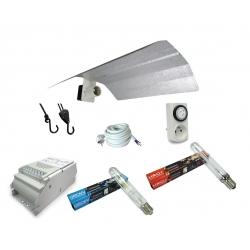 Kit lampe MH/HPS 250W ETI - MH + HRO Florastar