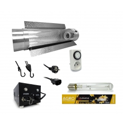 Kit lampe 250W Black Box - Agro Florastar + cooltube