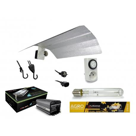 Kit lampe 250W Electro Digilight - Agro Florastar