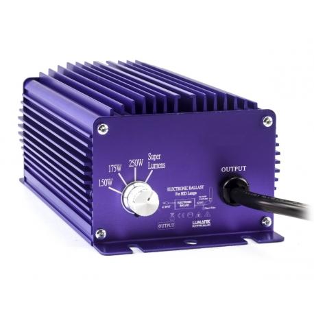 Ballast électronique 250W LUMATEK + mode Super Lumens