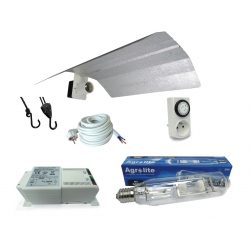 Kit lampe MH 400W Agrolite + HORTI GEAR - Croissance