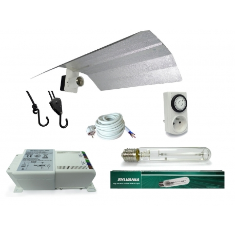 Kit lampe 400W SHP-TS Sylvania + HORTI GEAR - Floraison