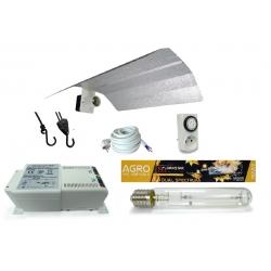 Kit lampe 400W Florastar + HORTI GEAR - Agro