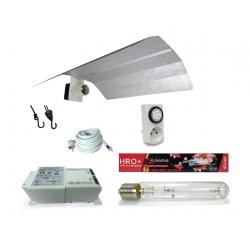 Kit lampe 400W HRO Florastar + HORTI GEAR - Floraison