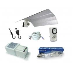 Kit lampe MH 600W Agrolite + HORTI GEAR - Croissance