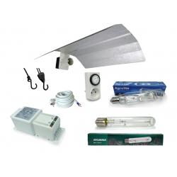 Kit lampe 600W MH AGROLITE + HPS GROXPRESS - Ballast HORTI Gear