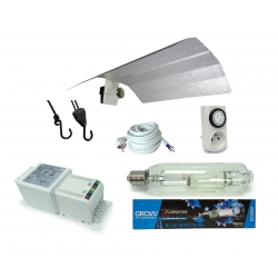 Kit lampe MH 600W FLORASTAR + HORTI GEAR