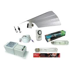 Kit lampe 600W MH SUNMASTER + HRO FLORASTAR - Ballast HORTI GEAR