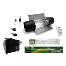 Kit lampe 1000W AGROLITE + Ballast BLACK Box - Agro