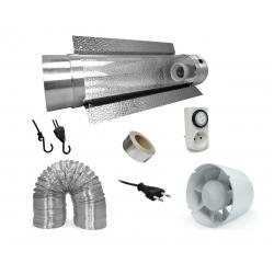 Pack réflecteur Cooltube + extracteur 305 m3/h - Florastar