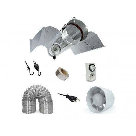 Pack réflecteur Bat Cooltube + extracteur 305 m3/h - Florastar
