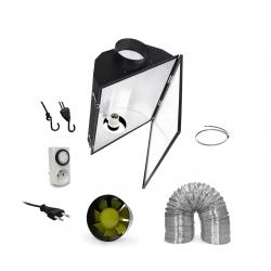 Pack réflecteur Maxibright + extracteur d'air 305 m3/h - diamètre 150