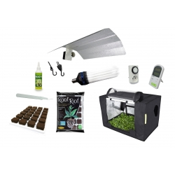 Pack Propagator 48 boutures ou semis + éclairage CFL 125W - GARDEN HIGHPRO