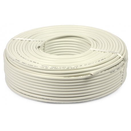 CABLE 3x1.5 mm - BLANC SOUPLE / Roll 50M