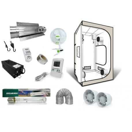 Pack G-Pro White Edition 120 - HPS Sunmaster + Black Box