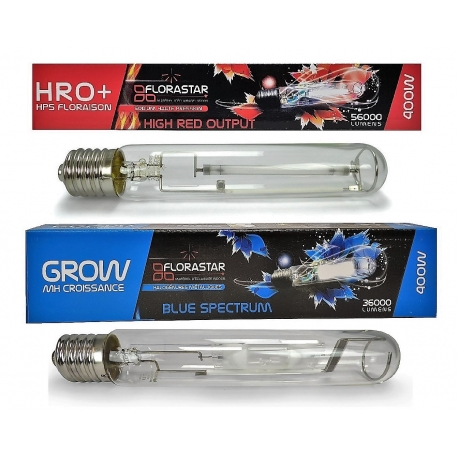 Pack ampoules 400W MH + HPS FLORASTAR