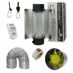 Kit Air cooltube Prima Klima + extracteur Profan 190m3/h