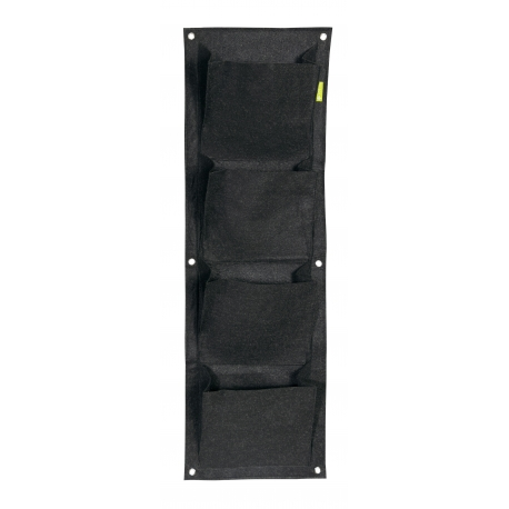 Mur végétal 4 poches WALL POT 30x100cm - GARDEN Highpro
