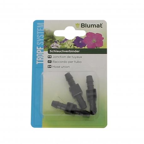 BLUMAT RACCORD DE TUYAUX FLEXIBLES 8 mm- BLISTER DE 3 pièces