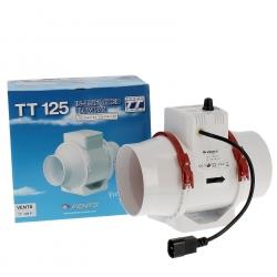 EXTRACTEUR TT - Ø 125mm -280 m³/h - Avec VARIATEUR