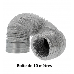 Gaine de ventilation en alu diamètre 254mm
