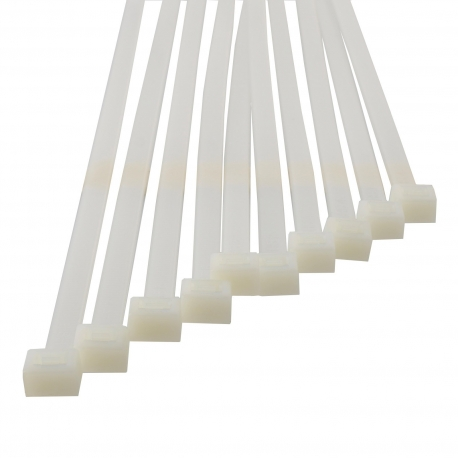 Lot de 10 colliers PVC auto-bloquant 263mm - VENTS