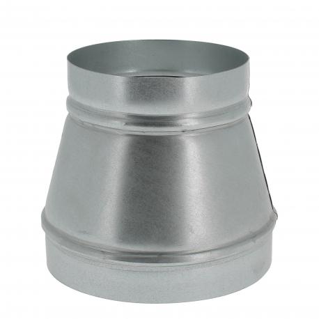 REDUCTION METAL Ø 200/125 mm