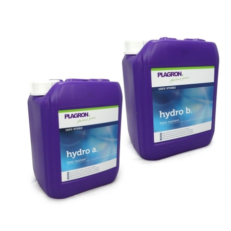Engrais HYDRO A+B 10 litres - PLAGRON