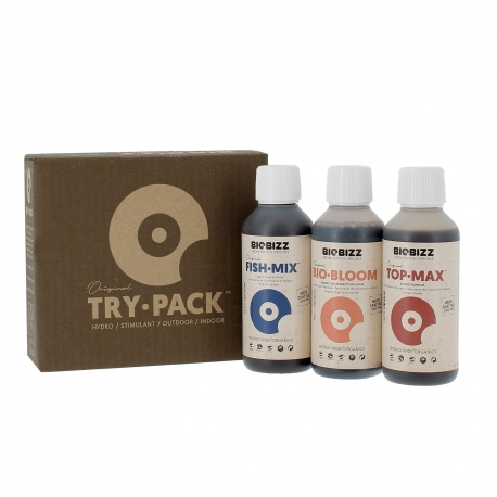 Try-Pack engrais Fish.Mix - 3 x 250ml - BOBIZZ