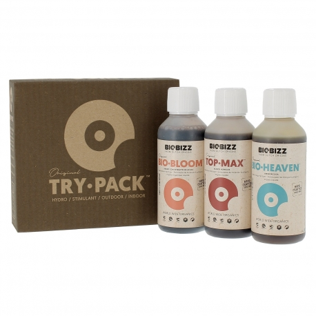 Try-Pack Hydro 3 x 250ml - BIOBIZZ