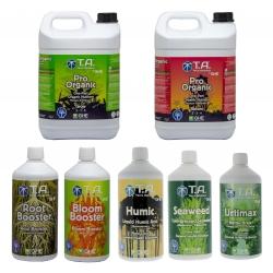 Pack engrais Pro Organic 5 litres - Terra Aquatica / GHE