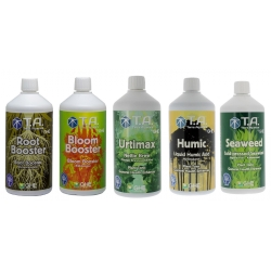 Pack stimulants 5 x 500ml Terra Aquatica