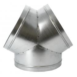 Raccord de ventilation Y 3 x sorties 315mm