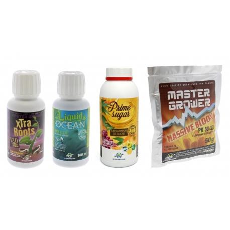 Pack booster croissance et floraison Hydropassion