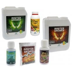 Pack engrais et stimulants Hydropassion 5 litres