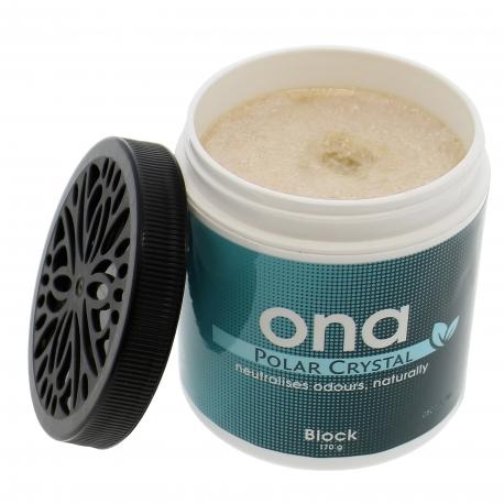ONA bloc Polar Crystal desctructeur d'odeur naturel