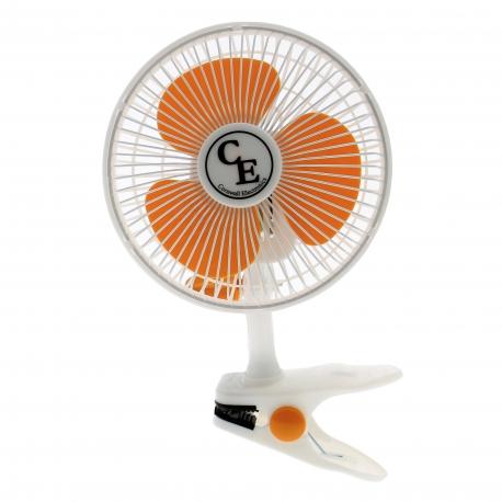 Ventilateur Clip Fan 2 vitesses d'une puissance de 15W