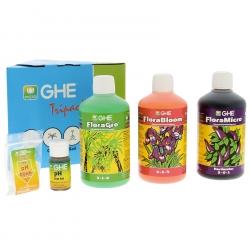 Pack engrais Flora Series eau dure - GHE