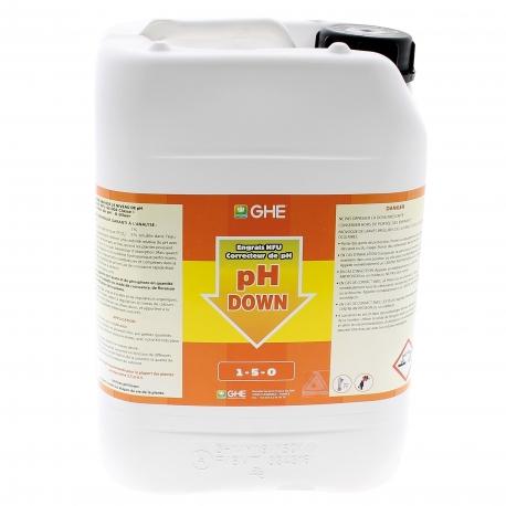 Régulateur de pH moins GHE en bidon de 10 litres