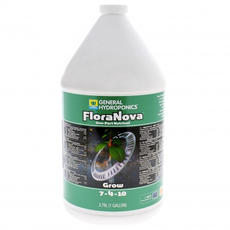 Engrais de croissance GHE - FloraNova Grow 3.7 litres