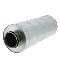 Silencieux de ventilation pour conduit de diamètre 125mm