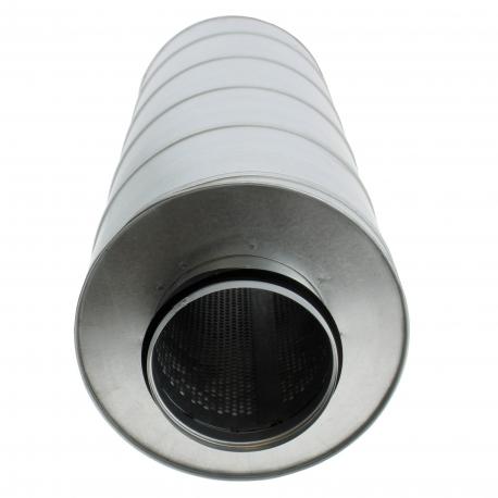 Silencieux rigide pour conduite d'air ronde 200mm