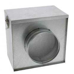 Filtre à pollen pour conduit de ventilation rond de diamètre 125mm